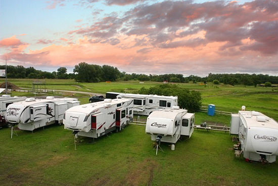 Full hookup rv parks in california